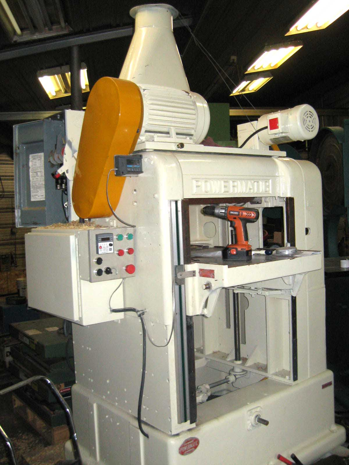 "Powermatic 24"" x 24"" Beam Planer Image"