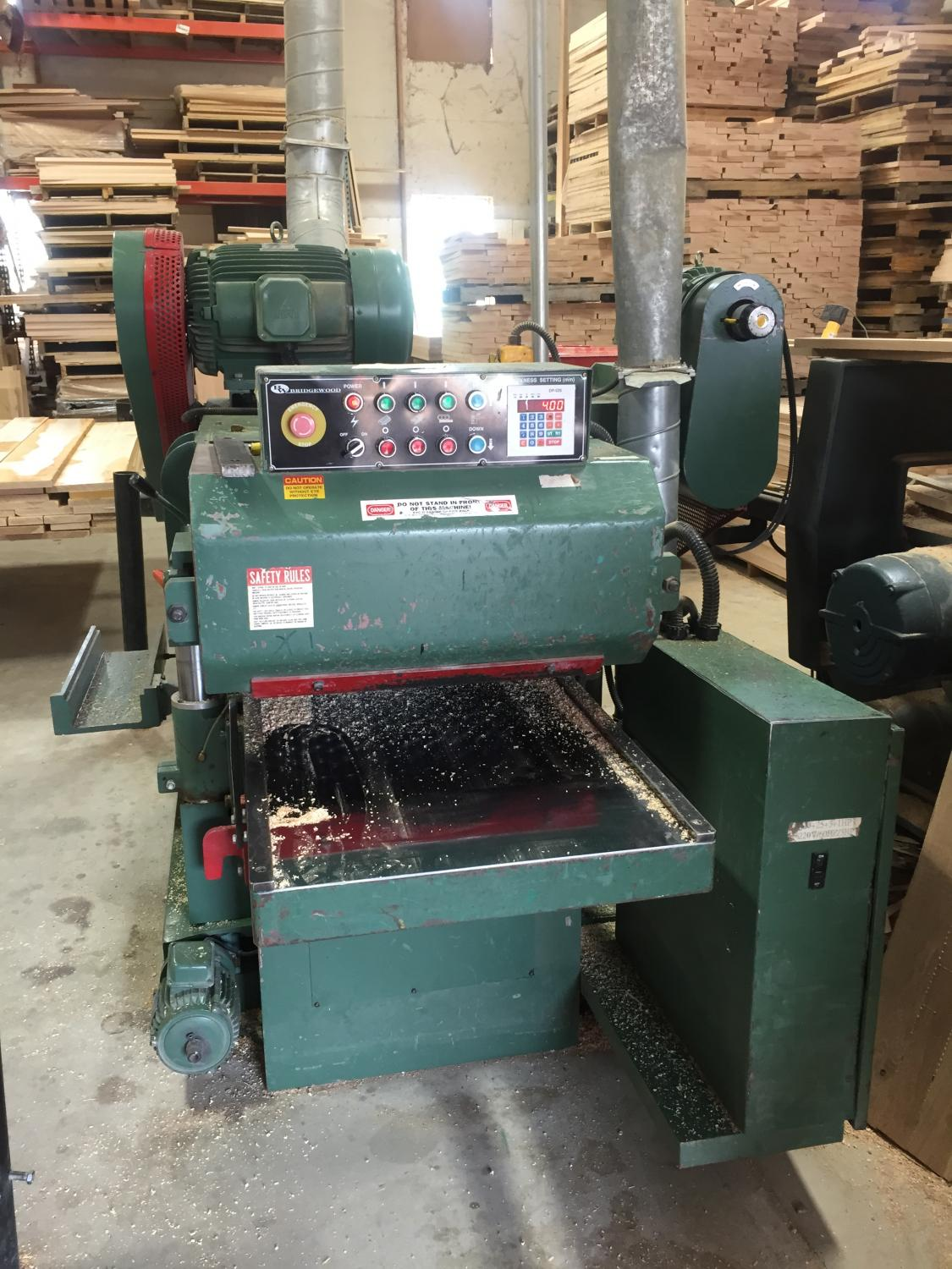 Bridgewood Double-Sided Planer Image